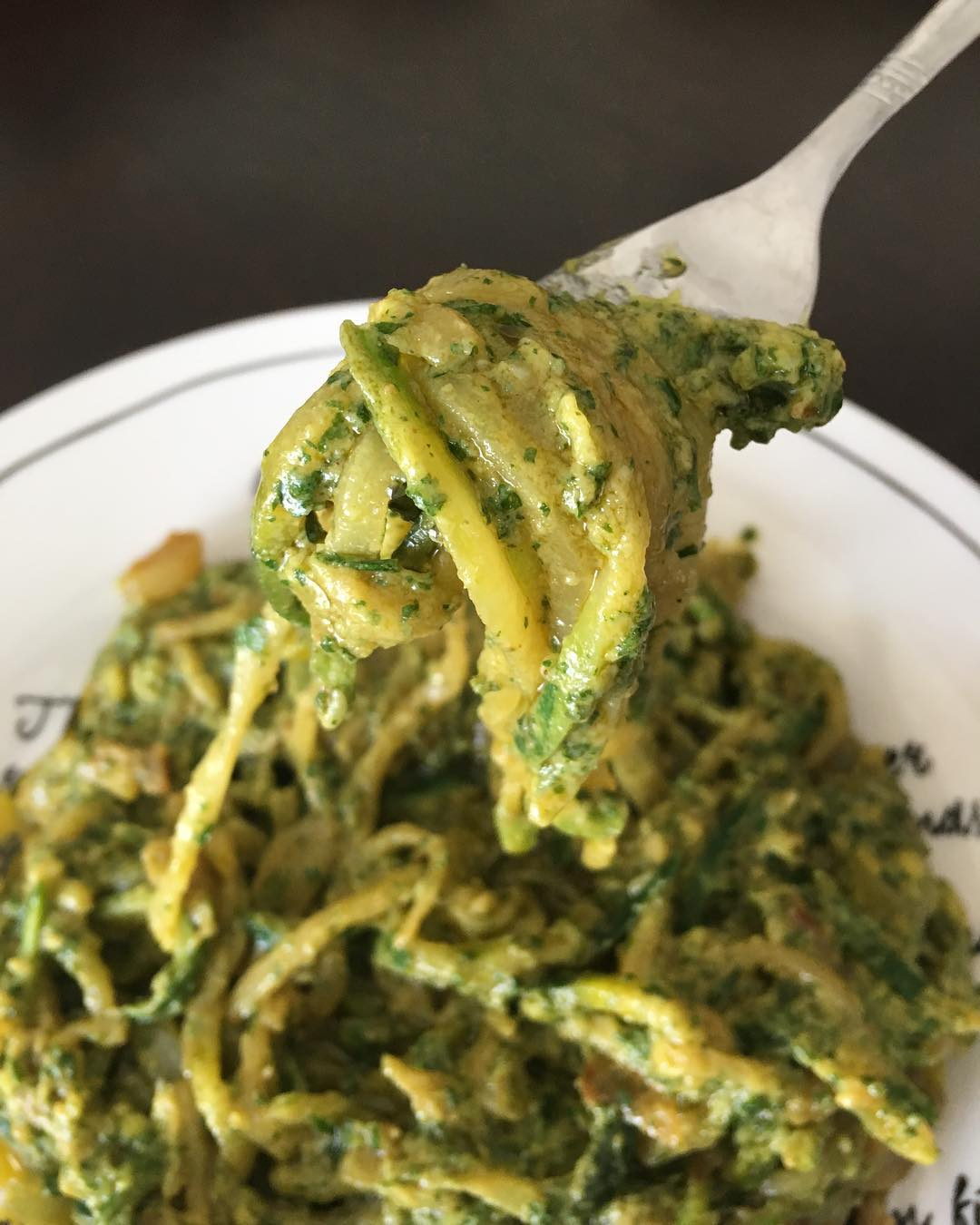 zucchini noodles eatbrightliving