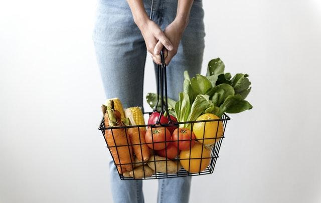 fruit vegetables vegan pantry staples