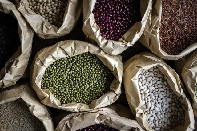 grains beans seven vegan pantry staples