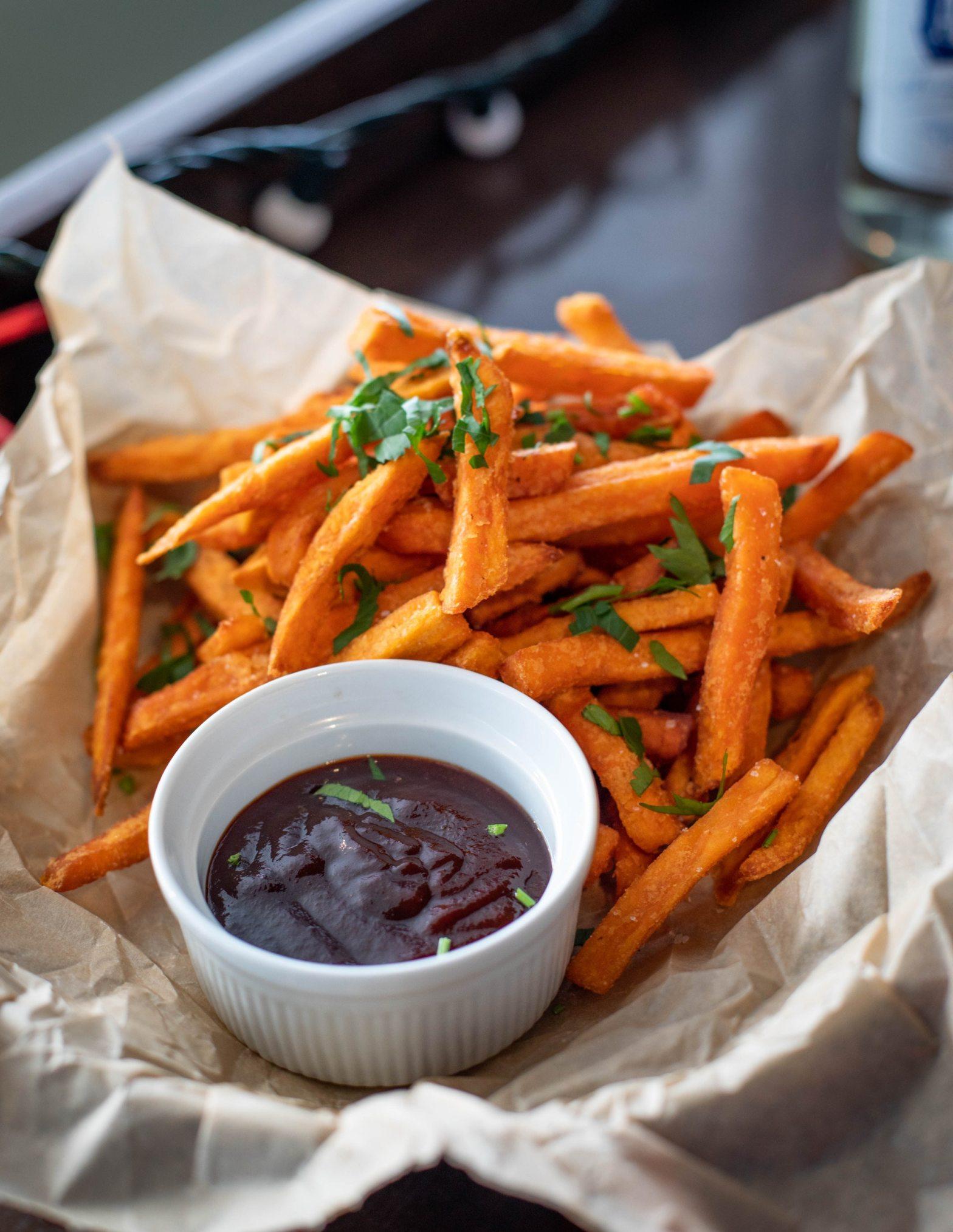 sweet potato fries eat bright living